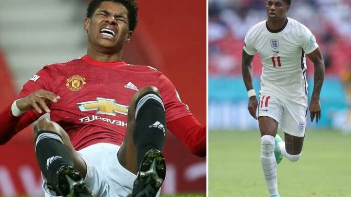 Marcus Rashford could miss start of Man Utd's season with the England attacker facing shoulder surgery after Euro 2020