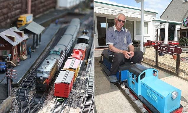 Model railway enthusiast turns his garden into tourist attraction