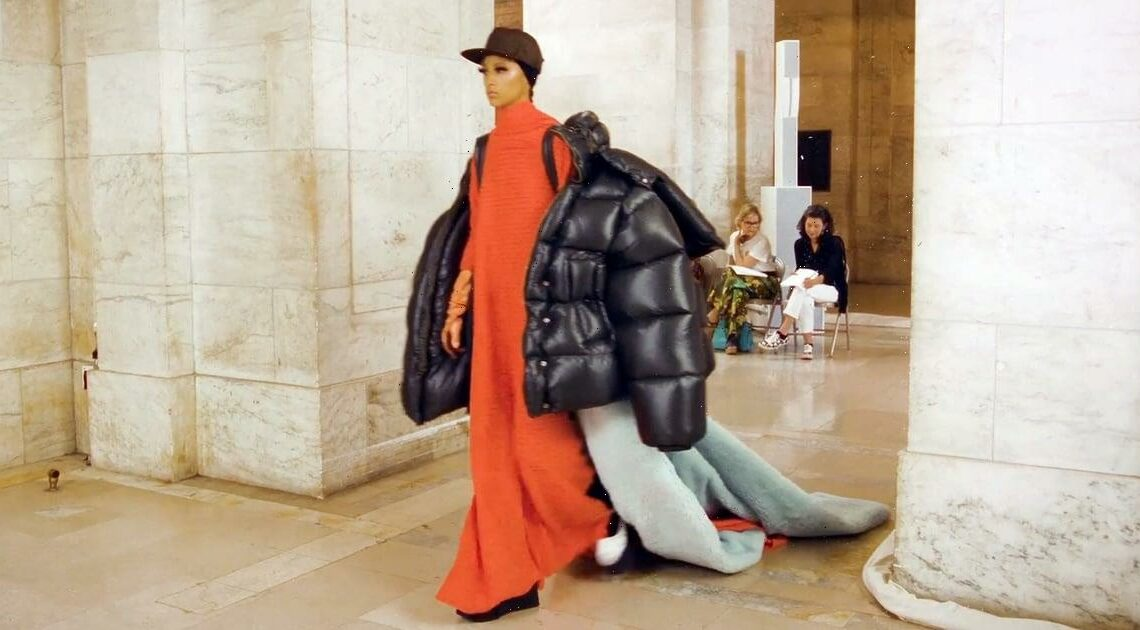 My Hangers Are Sweating Just Looking at Marc Jacobs's Massive New Puffer Coats