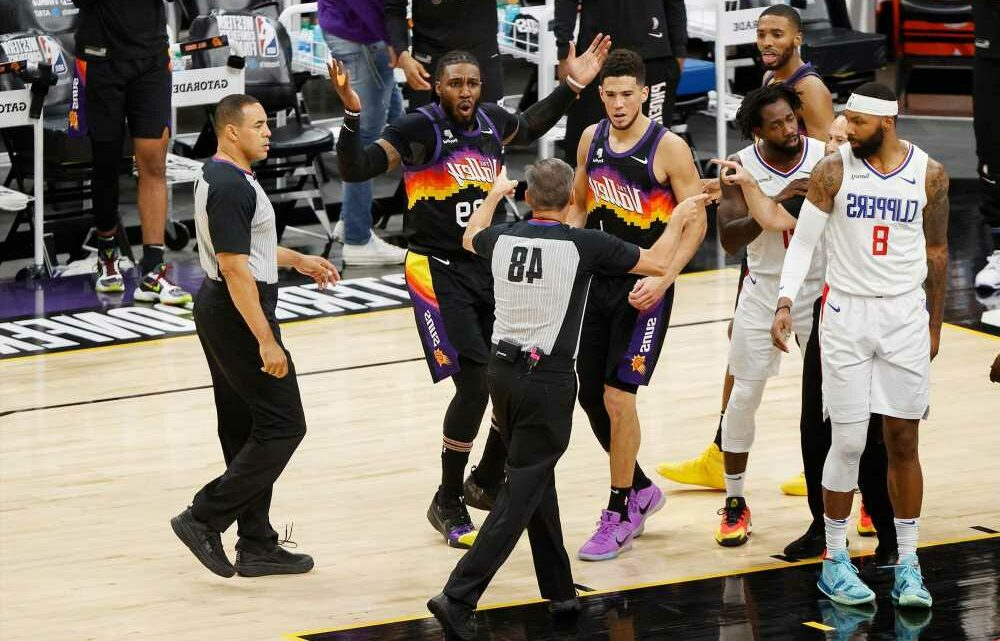 NBA's officiating problem spoils Suns-Clippers thriller