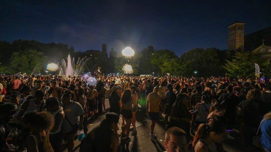 NYC Pride 2021: Police clash with crowd; arrests made around Washington Square Park: reports