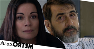 New Corrie video reveals heartbreaking moment Carla says goodbye to dying Peter