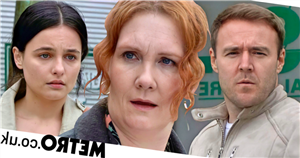 New Corrie video reveals the moment Fiz finds out about Tyrone and Alina's baby