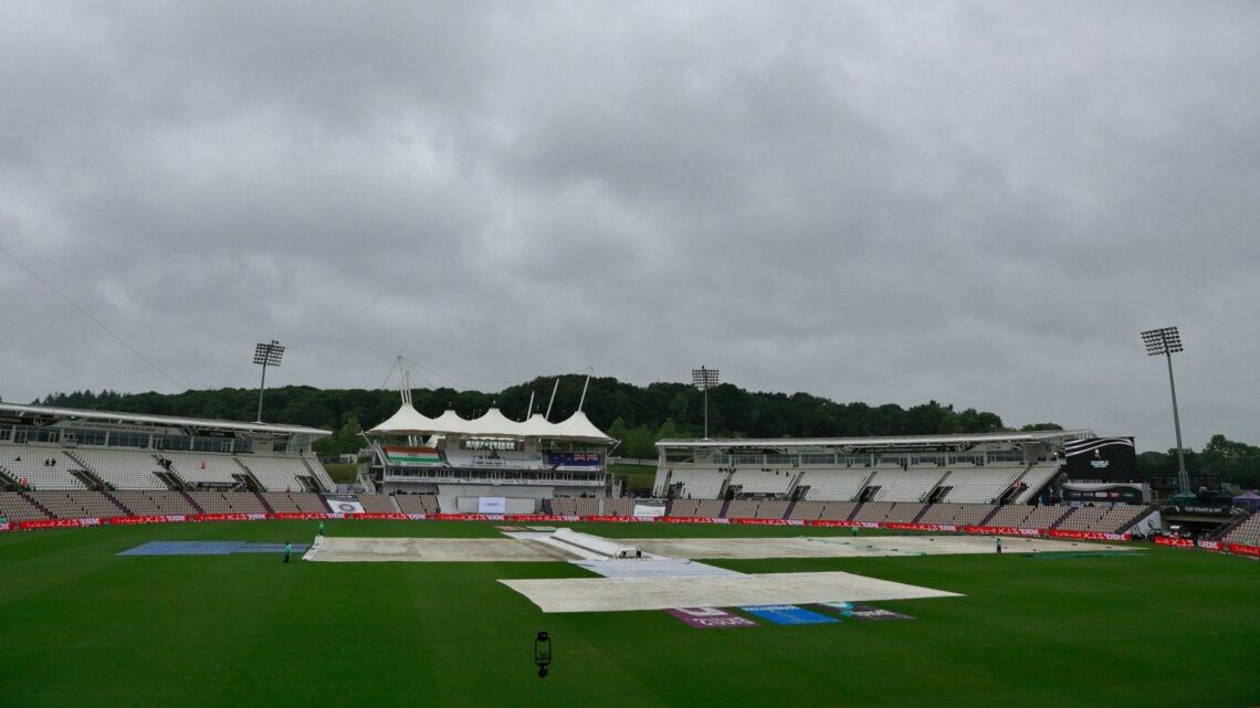 New Zealand, India frustrated by fourth day washout in World Test Championship final