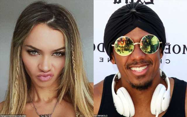 Nick Cannon Appears in Model Alyssa Scott's Maternity Pic After Welcoming Twins With Abby De La Rosa