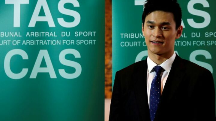 Olympics: Chinese swimmer Sun Yang to miss Games over doping charges