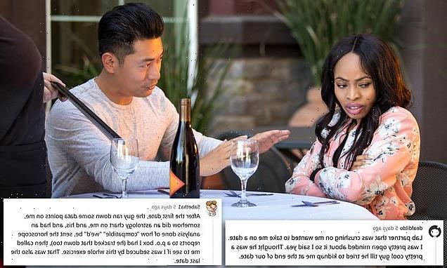 People reveal their craziest first date stories