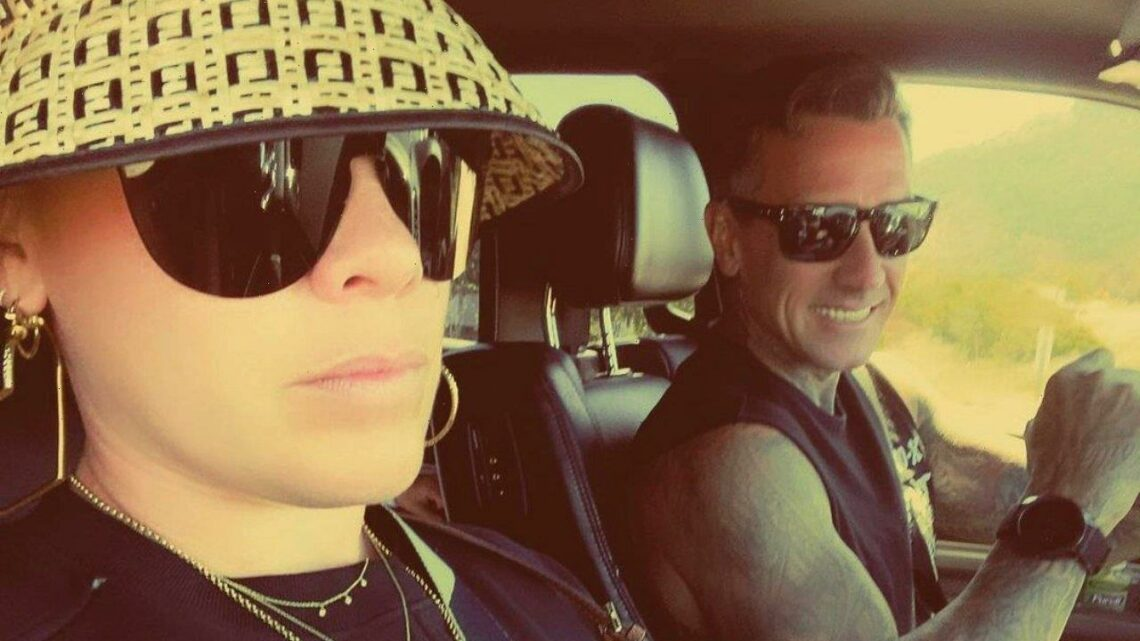 Pink Gets A Scare From Carey Hart Over His Interview in Her Concert Documentary