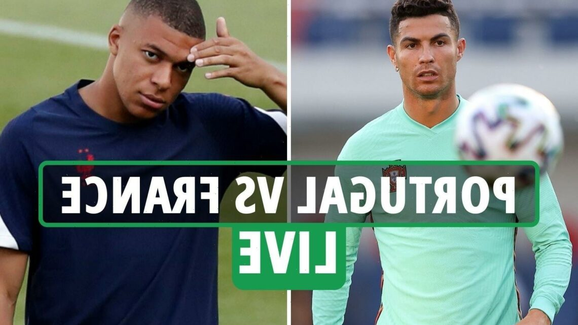 Portugal vs France LIVE: Stream FREE, TV channel, team news and kick-off time for massive Euro 2020 clash TONIGHT