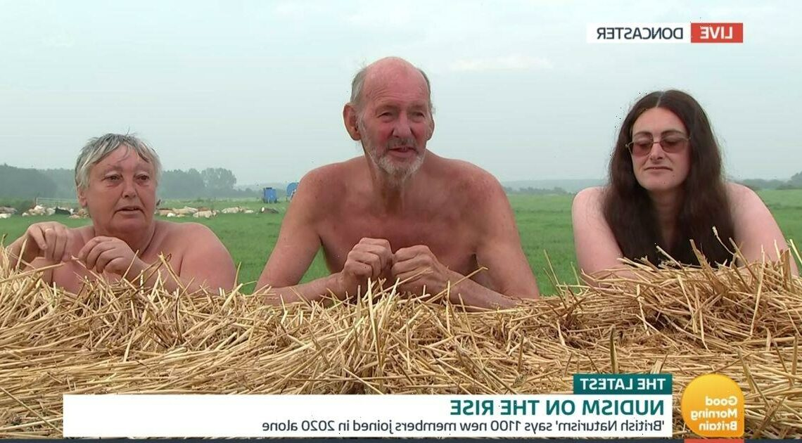 Richard Madeley 'considers joining nudism' after early morning chat with naked farmers