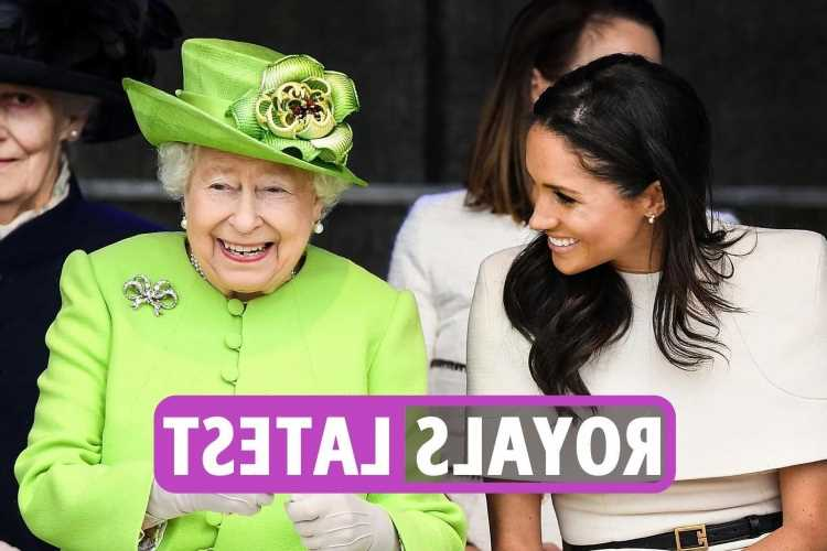 Royal Family news – Queen offers Prince Harry and Meghan Markle a MASSIVE olive branch with invite to Jubilee next year