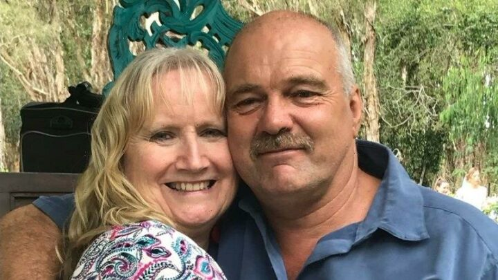 Sandra's 'nowhere near COVID' but she can't visit her husband in ICU in Queensland