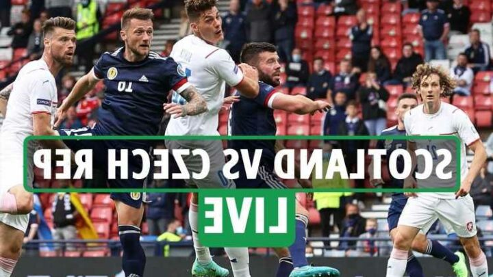 Scotland vs Czech Republic LIVE: Stream FREE, TV channel, score – Schick scores from halfway line to double Czech lead