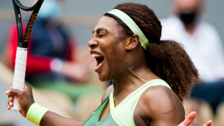 Serena Williams Serves and Scraps Her Way Into the Fourth Round