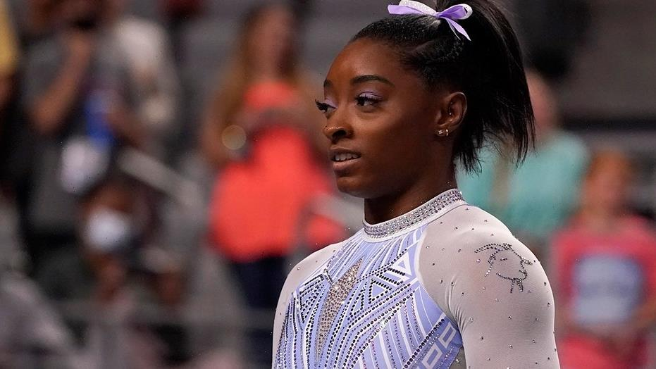 Simone Biles on bedazzled goat: 'The idea was to hit back at the haters'