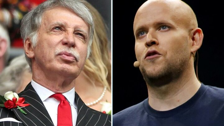 Spotify's Daniel Ek set to launch new Arsenal takeover bid worth more than £2BILLION after Kroenke rejected first offer