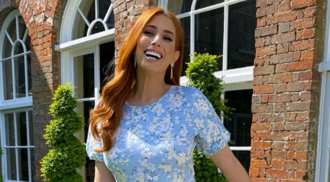 Stacey Solomon admits she's 'impatient' for pool to be finished in new home update