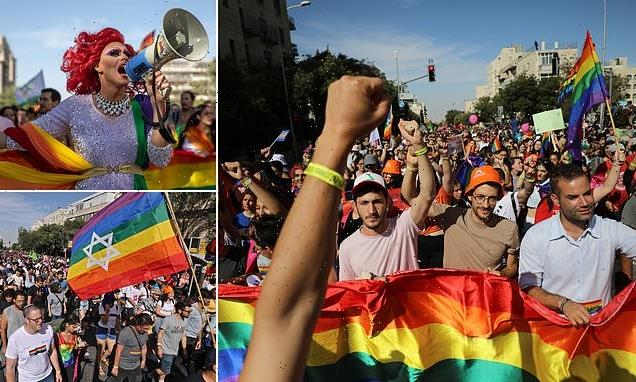 Thousands pack the streets of Jerusalem to celebrate Pride