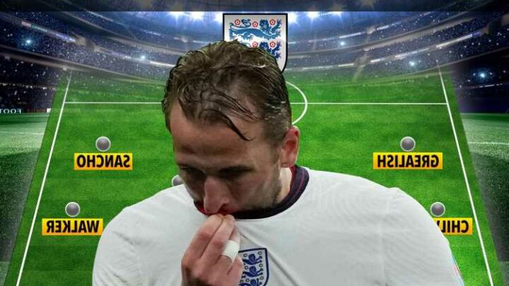 Three ways England could line up without Harry Kane against Czech Republic at Euro 2020 after Scotland horror show