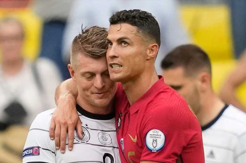 Toni Kroos reveals details of Cristiano Ronaldo chat after Germany's Euro 2020 win over Portugal