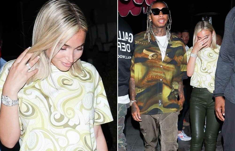 Tyga sparks engagement rumors with girlfriend Camaryn Swanson