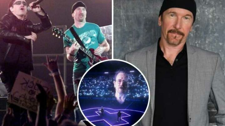 U2's The Edge says he's suffering 'survivors' guilt' as dealing with Covid-19 lockdown was 'relatively painless'