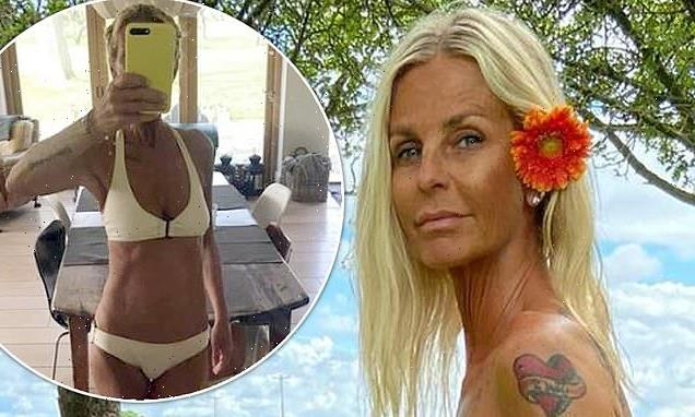 Ulrika Jonsson, 53, strips completely NAKED for a cheeky snap