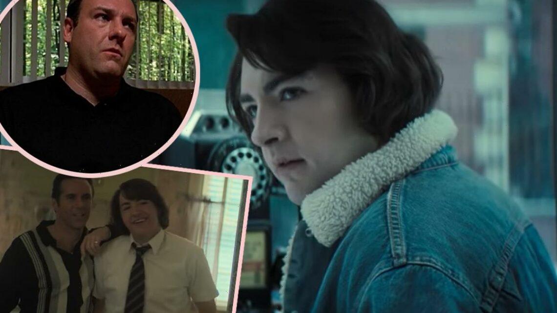 Watch James Gandolfini's Son Transform Into A Young Tony Soprano In The Many Saints Of Newark Trailer!