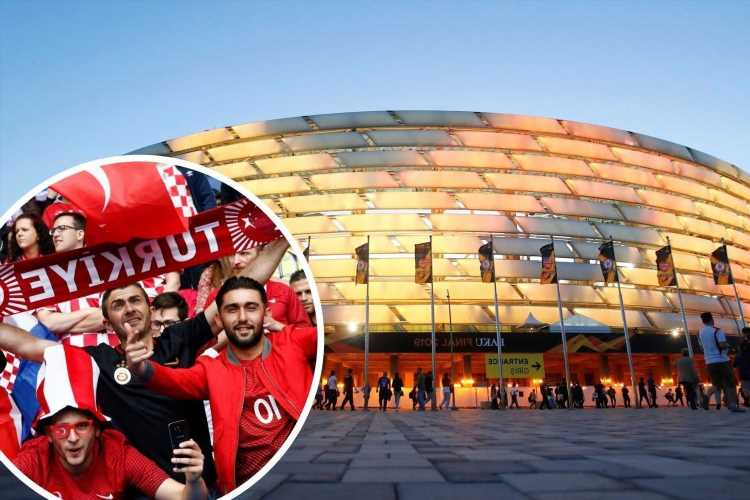 Why are Azerbaijan fans cheering for Turkey against Wales?