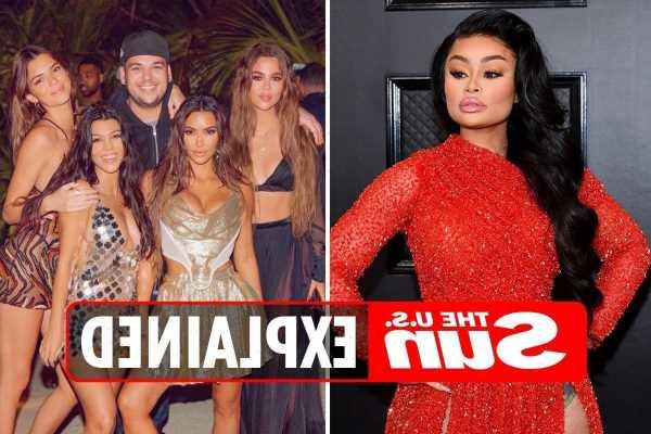 Why did Blac Chyna sue the Kardashians?