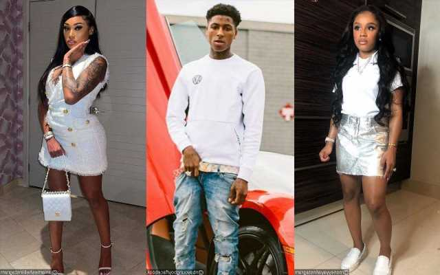 Yaya Mayweather and NBA YoungBoy's Another Baby Mama Jania Meshell Spotted in Friendly Outing