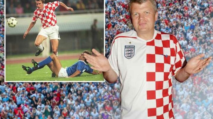 You think you're nervous? Imagine supporting England and Croatia like I do… it's agony