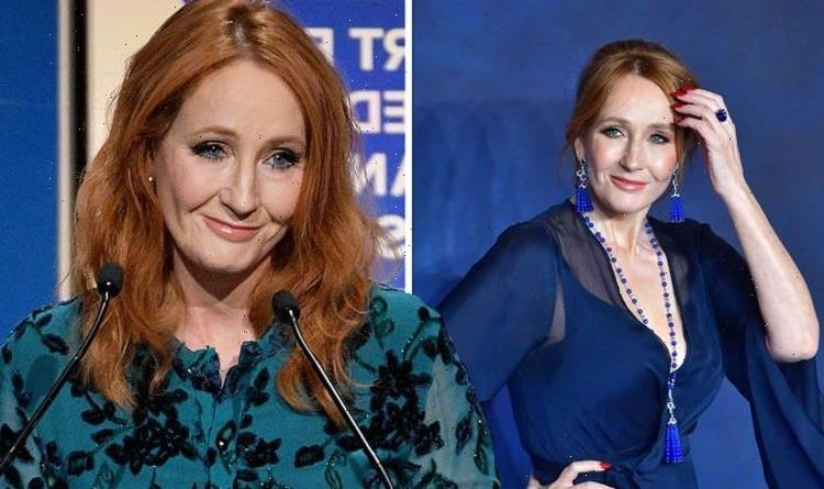 'Embarrassed' JK Rowling admits writing section of Harry Potter sitting on a public loo