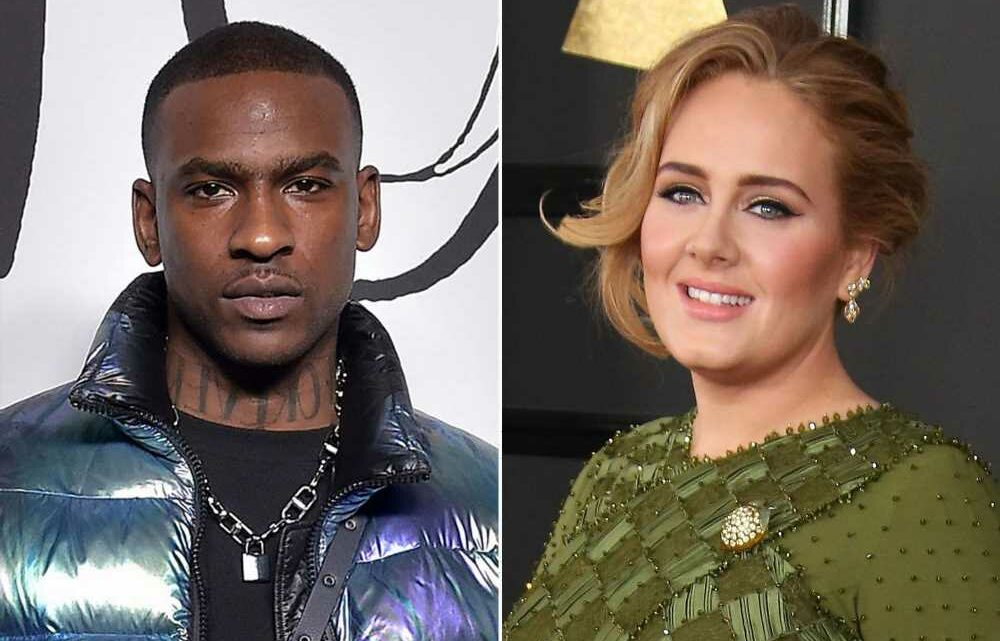 Adele shops at outlet mall with rumored boyfriend Skepta