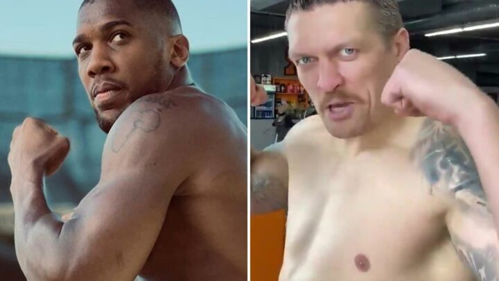 Anthony Joshua and Oleksandr Usyk fight almost agreed with just 'three small issues' to be thrashed out