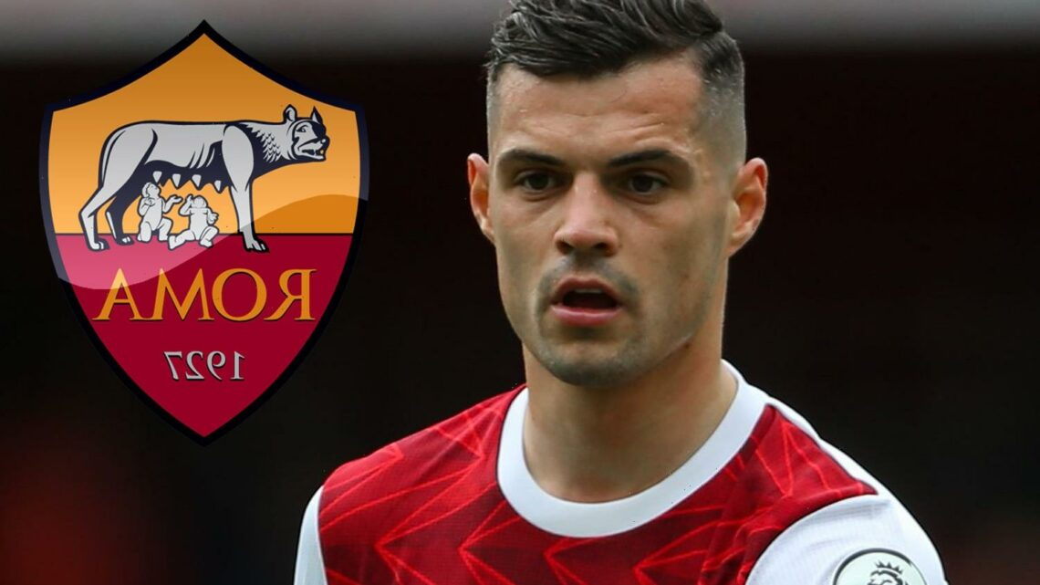 Arsenal braced for another Granit Xhaka transfer bid from Roma 'as he agrees personal terms with Jose Mourinho's side'