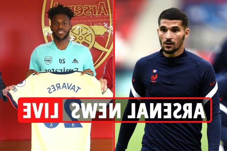 Arsenal transfer news LIVE: Nuno Tavares ANNOUNCED, Aouar agent in London, Sambi Lokonga PASSES Gunners medical
