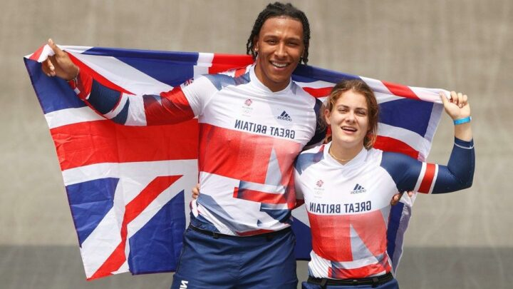 BMX Olympics: Beth Shriever wins women's gold and Kye Whyte secures men's silver