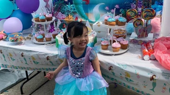 Baby born 3 years after NYPD father's death celebrates 4th birthday