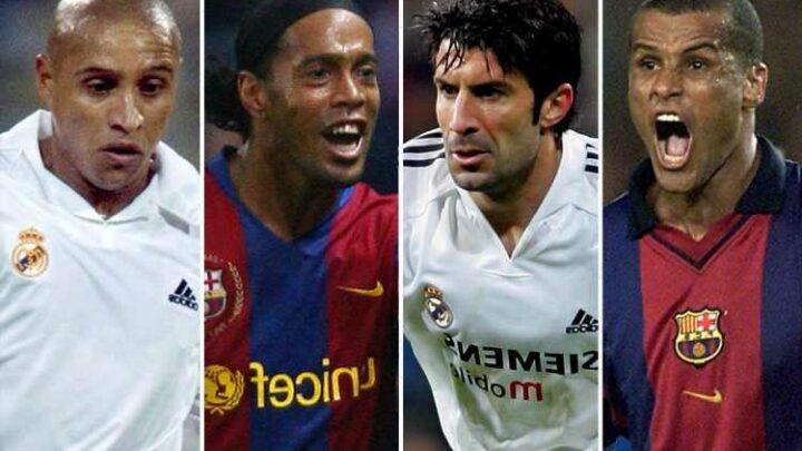 Barcelona vs Real Madrid El Clasico legends match announced with Ronaldinho, Roberto Carlos, Rivaldo & Figo playing