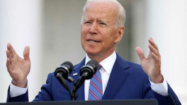 Biden marks 'special celebration' but warns COVID 'hasn't been vanquished'