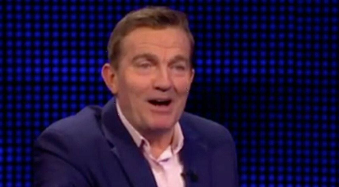 Bradley Walsh left squirming after getting contestant's husband's name wrong
