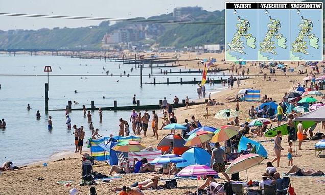 Britain's 90F heatwave continues