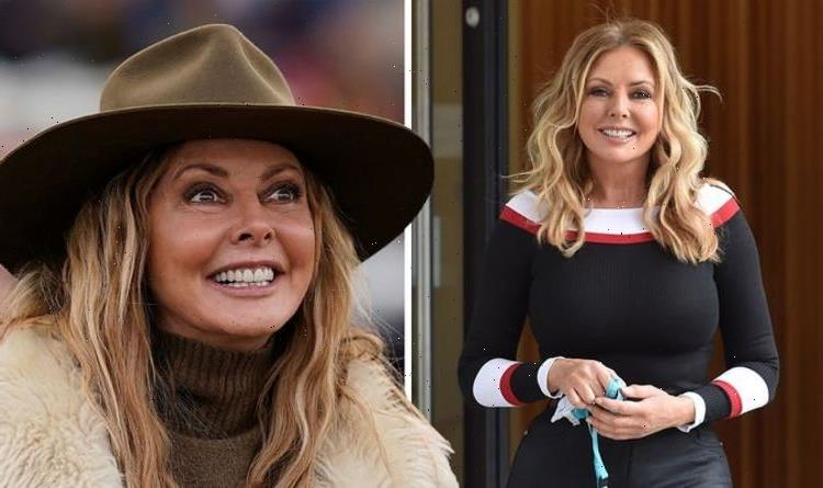 Carol Vorderman: Countdown star admits she's 'not sure' husband ever proposed to her