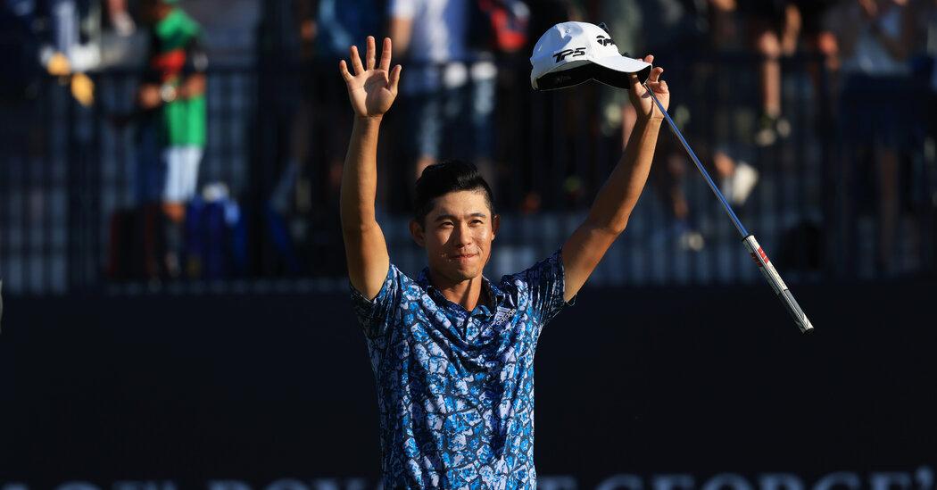 Collin Morikawa Wins the British Open
