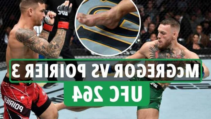 Conor McGregor BREAKS LEG in horror UFC 264 loss live updates – Notorious in hospital as FOURTH Poirier fight confirmed
