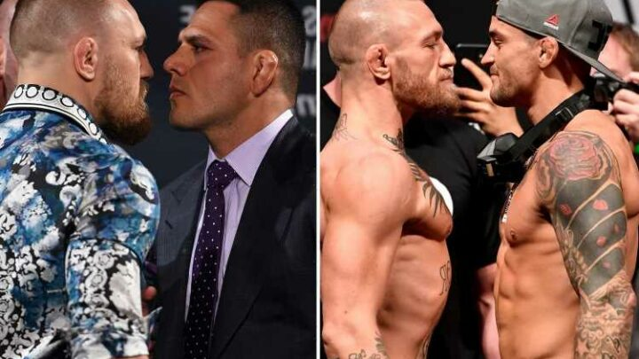 Conor McGregor claims he could be Dustin Poirier and back-up Rafael dos Anjos in the same night
