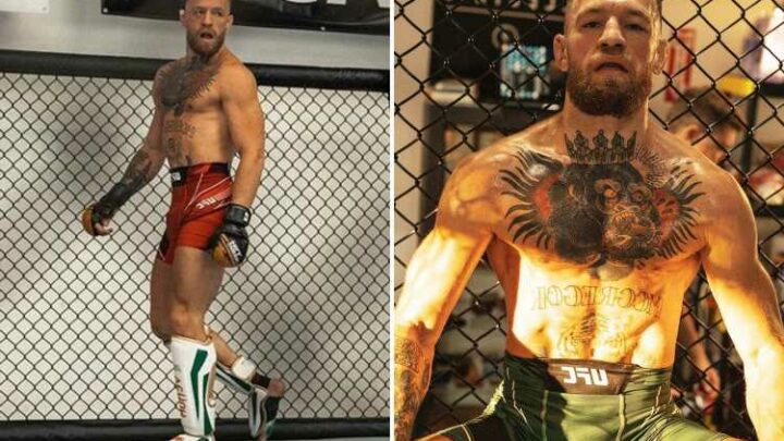 Conor McGregor says UFC 264 training has been 'nothing but mixed martial arts' as he reveals three sessions a day regime