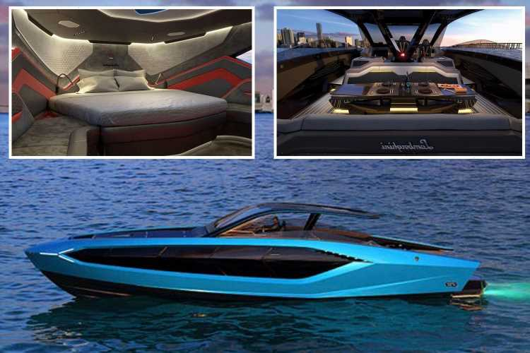 Conor McGregor's amazing £2.7m luxury Lamborghini yacht is the 'Supercar of the Sea', and one of just 63 made in world