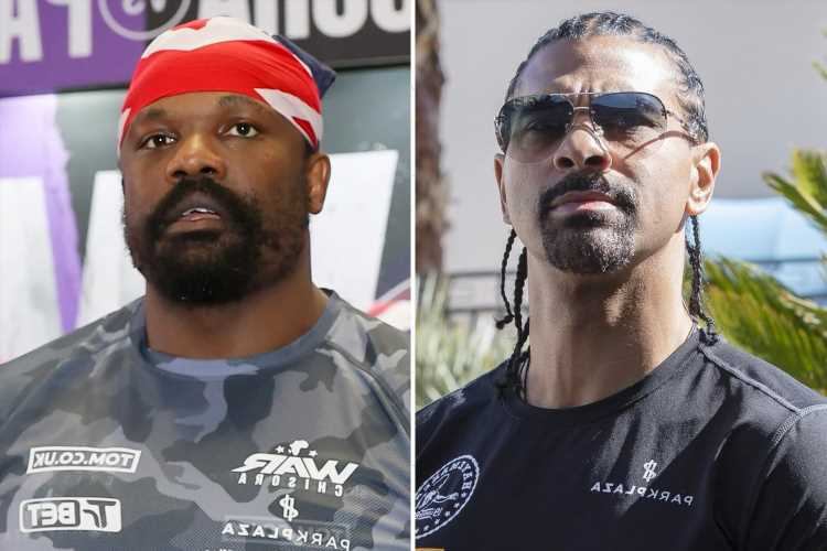 Derek Chisora and David Haye split after two-and-a-half-year partnership as boxer thanks old rival for his support